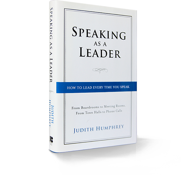 SPEAKING AS A LEADER PDF
